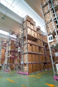 Dimensions for forklifts and narrow aisle pallet racking